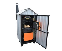 Outdoor wood gasification boilers - CWD solid fuel boilers ...