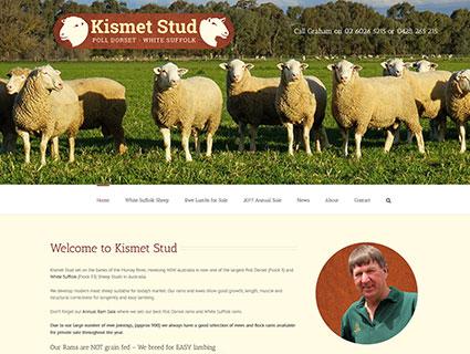 Website Designers Howlong - Kismet Stud