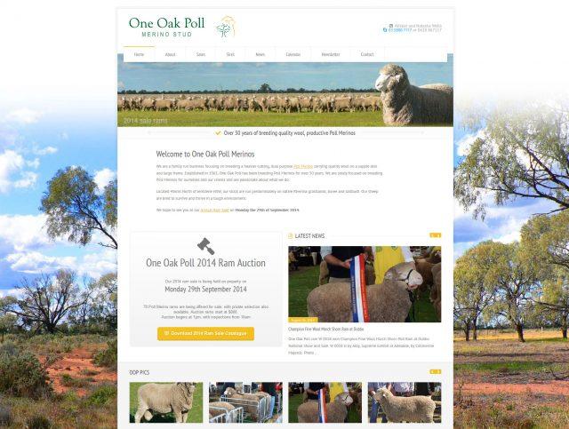 Website Designers Wallan - One Oak MerinoStud