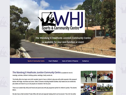 L.B.Davern Reserve - WHJ Sports & Community Centre