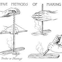 Primitive Methods of Making Fire
