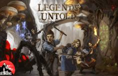 Kickstarter Legends Untold - Jeu Legends Untold