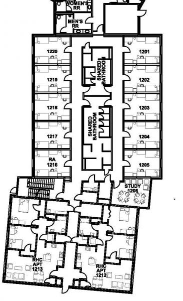 Housing  Barto Hall