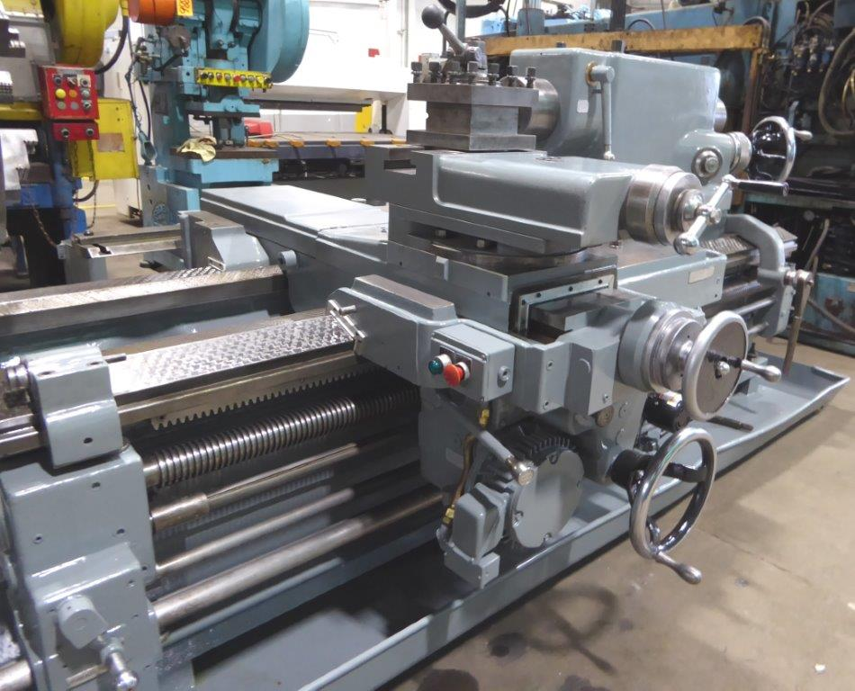 LEBLOND HEAVY DUTY SLIDING BED GAP LATHE -26990