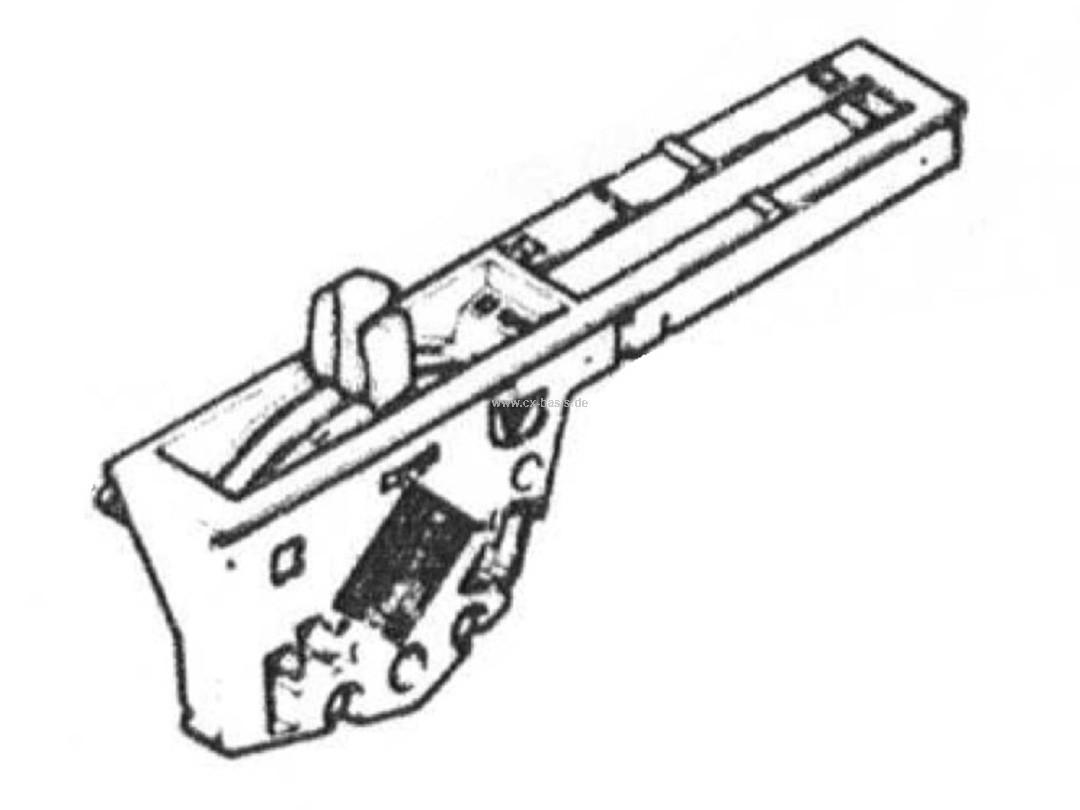 Kontrolleinheit Heizung/Lüftung CX (1/76->5/78