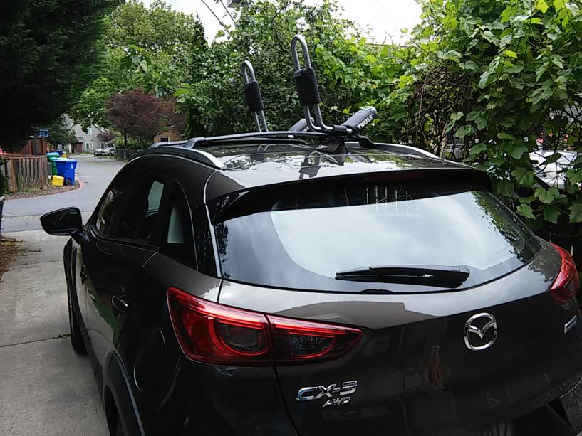 Roof racks and fairings