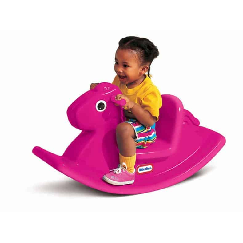 bumbo chairs for babies infinite position lift chair little tikes rocking horse - magenta | cxc toys &