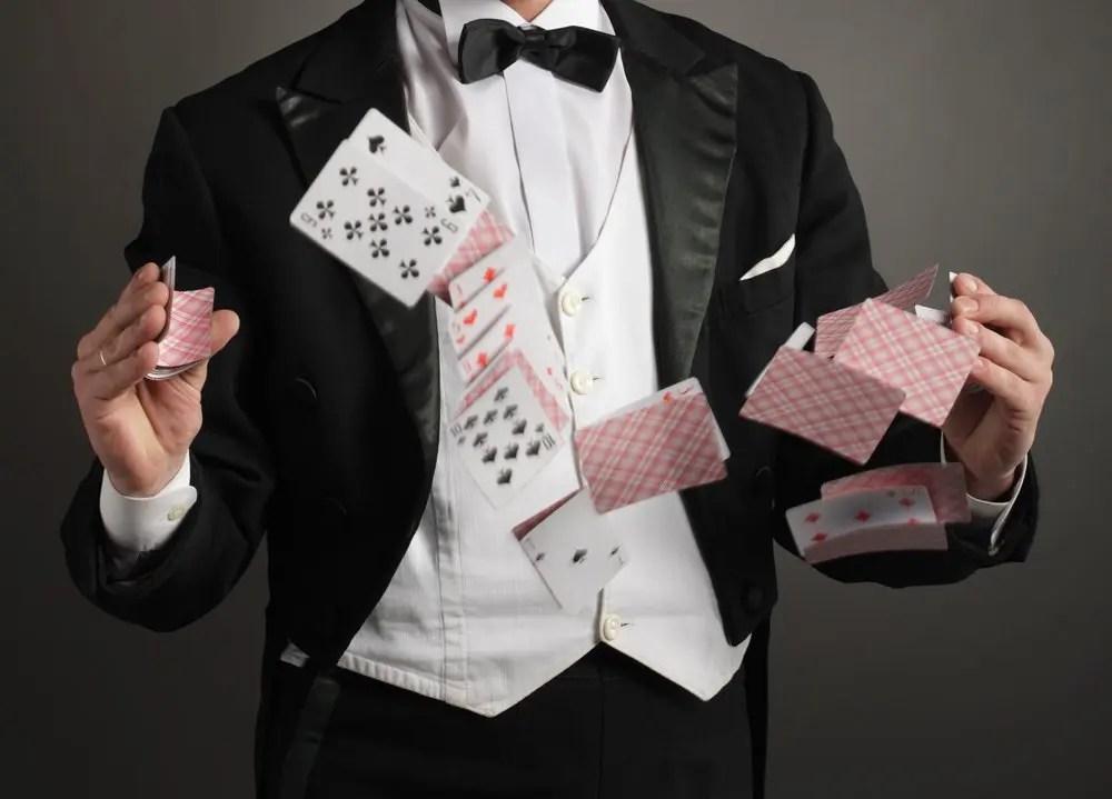 magician cards