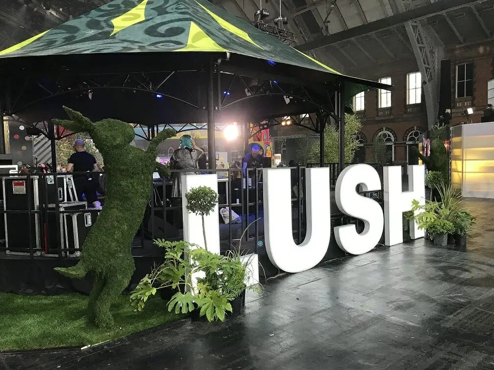 Employee Experience - Lush Showcase event
