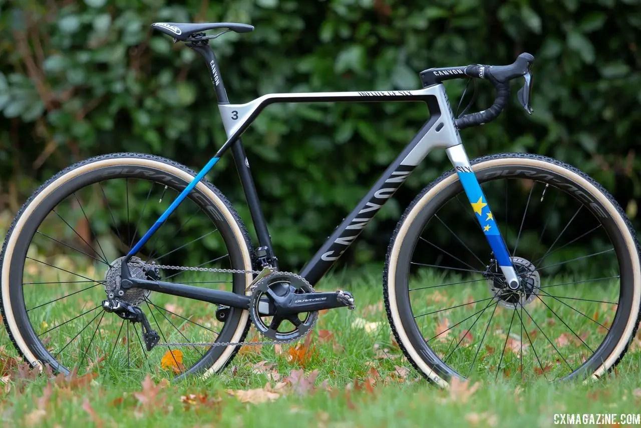 worlds bike mathieu van der poel s worlds winning canyon inflite cf slx
