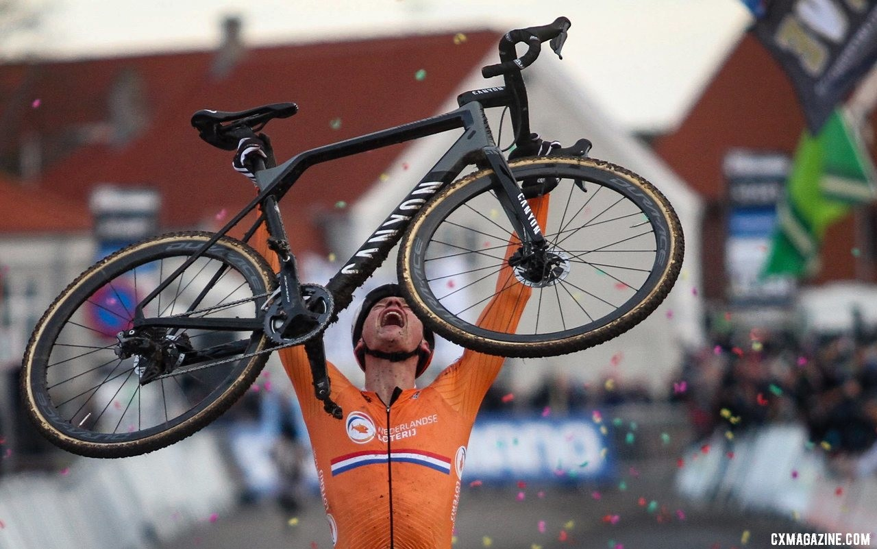 worlds bike mathieu van der poel s worlds winning canyon inflite cf slx