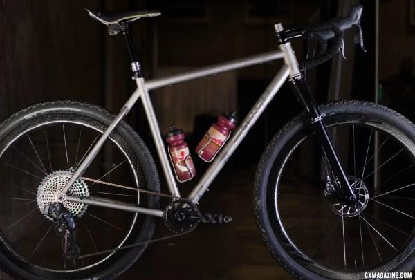 2019 Nahbs T Red Muur Titanium Monster Cross Gravel Bike