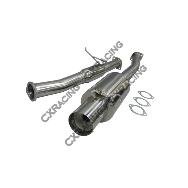 Turbo Catback Exhaust System For 93-98 Toyota Supra MK4 3
