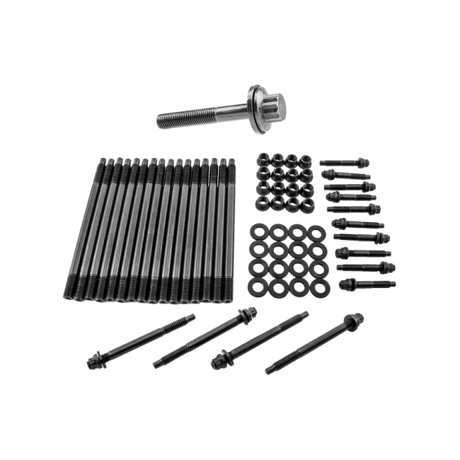 Head Stud Kit + Crank Crankshaft Bolt for GM Chevy LS/LM