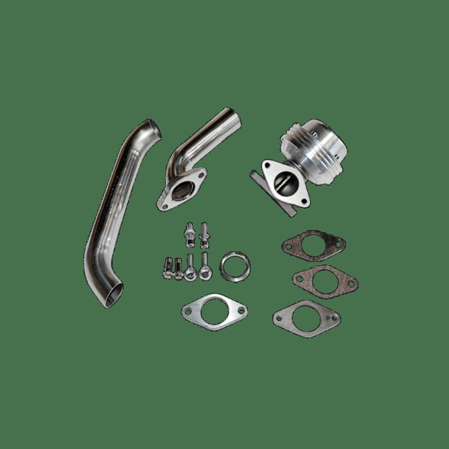 38mm Turbo Wastegate 8 PSI / 6 PSI / 16 PSI + Dump Tube
