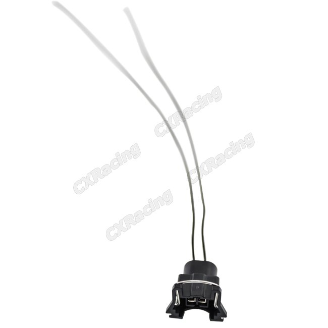 Injector Connector Wire Plug w/ Pigtail Wire Harness EV1