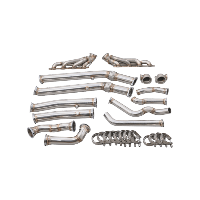 Twin Manifold Header Downpipe For Pontiac GTO Holden