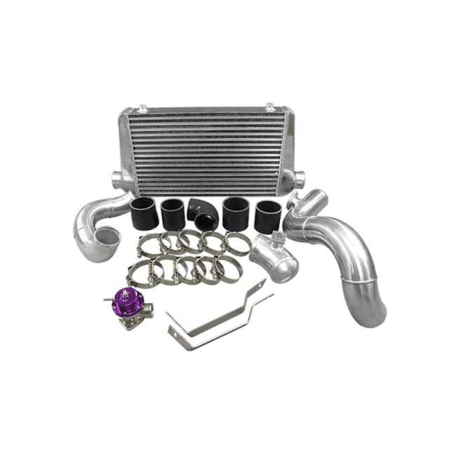 FMIC Intercooler Kit For 92-98 BMW 3-Series E36 Chassis, 6