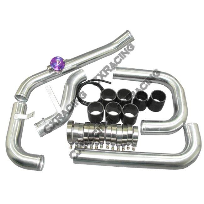 28x8x3.5 Intercooler Piping Kit For 88-00 Civic & Integra