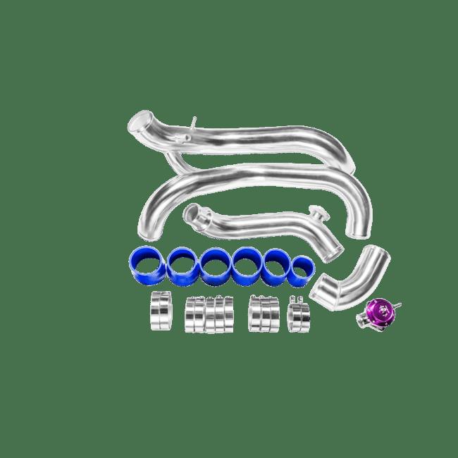 Tube & Fin FMIC INTERCOOLER PIPING KIT + BOV For 240SX S14