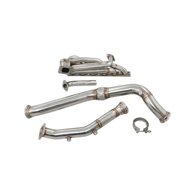 T3 Top Mount Turbo Manifold Downpipe For BMW E46 M52