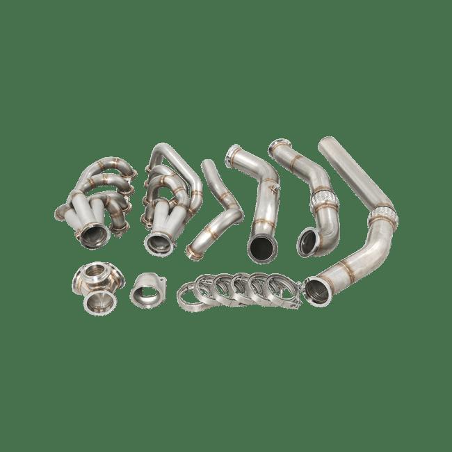 LS LS1 Turbo Manifold Header Downpipe Kit For 67-72