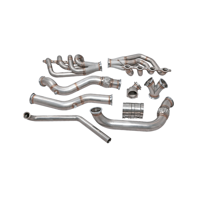 Single Turbo Manifold Downpipe Intercooler Kit For 74-81