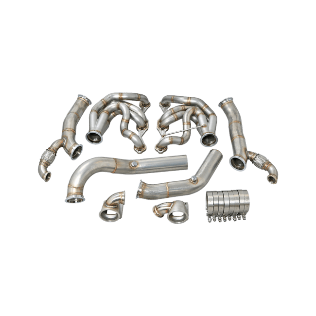 Twin Turbo Manifold Header Downpipe For 60-66 Chevy C10