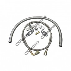 Turbo Oil / Water Line Feed Drain Fitting Line Kit For