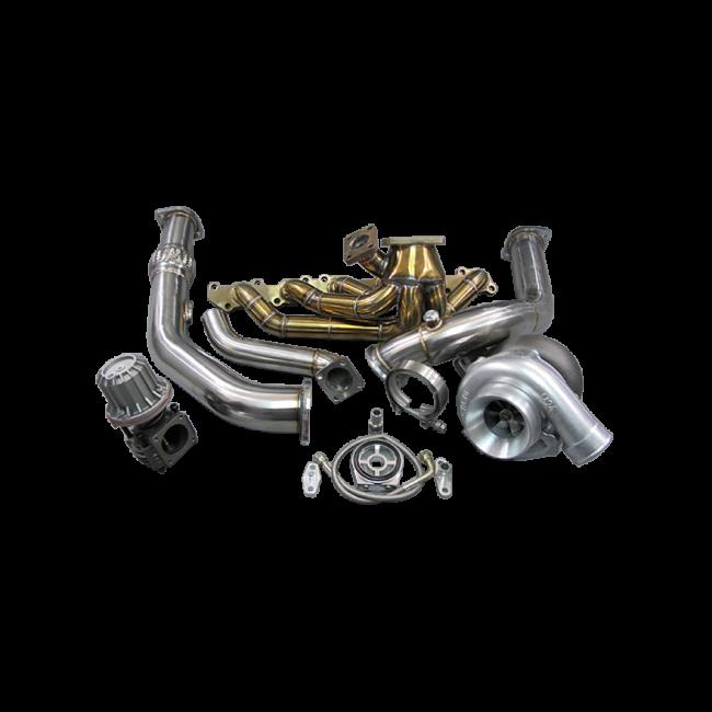 T4 T76 Turbo Kit Manifold Downpipe For Land Cruiser J80