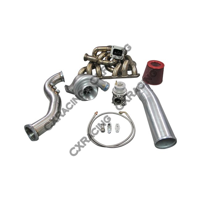 T70 Turbo Kit For Lexus SC300 2JZGE 2JZ-GE Manifold