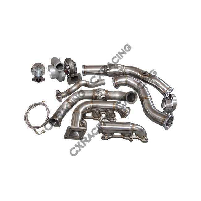 Turbo Kit Manifold Downpipe for Toyota 95-04 Tacoma 5VZFE