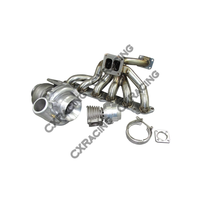 Turbo Manifold Downpipe Kit For 86-92 Supra 7MGTE MK3