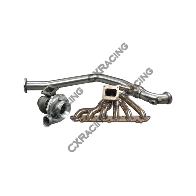 Turbo Manifold Downpipe Intercooler Piping Kit For 86-92