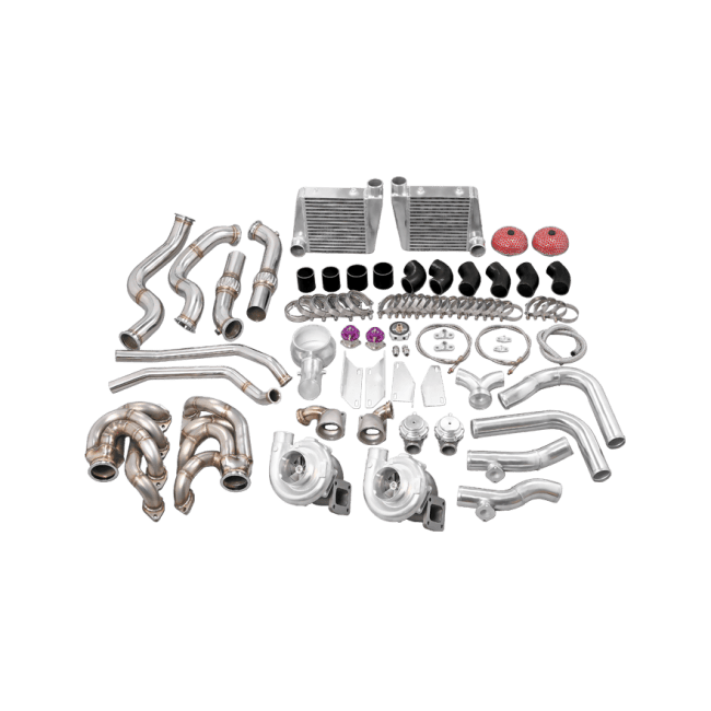 Twin Turbo Manifold Intercooler For 60-66 Chevy C10 Truck