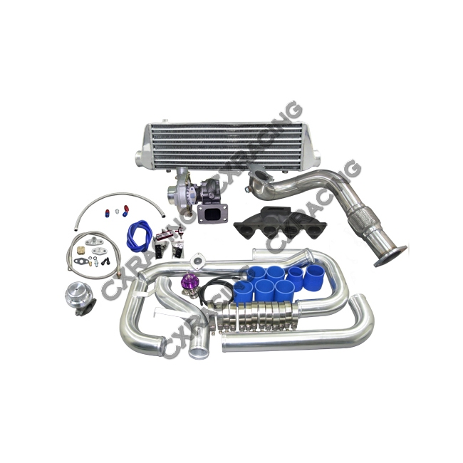 Manifold Turbo Intercooler Kit For Civic EK with B16 B18 B
