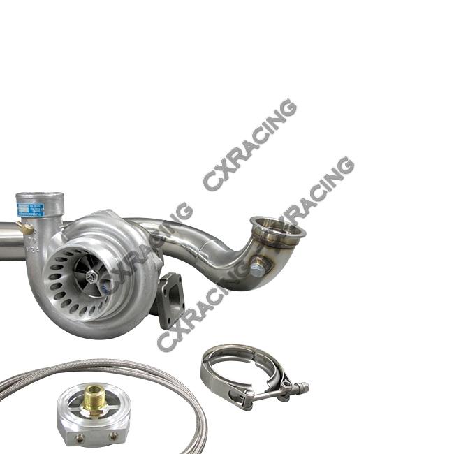 GT35 T4 Turbo Charger Kit For Civic Integra EF EG EK B