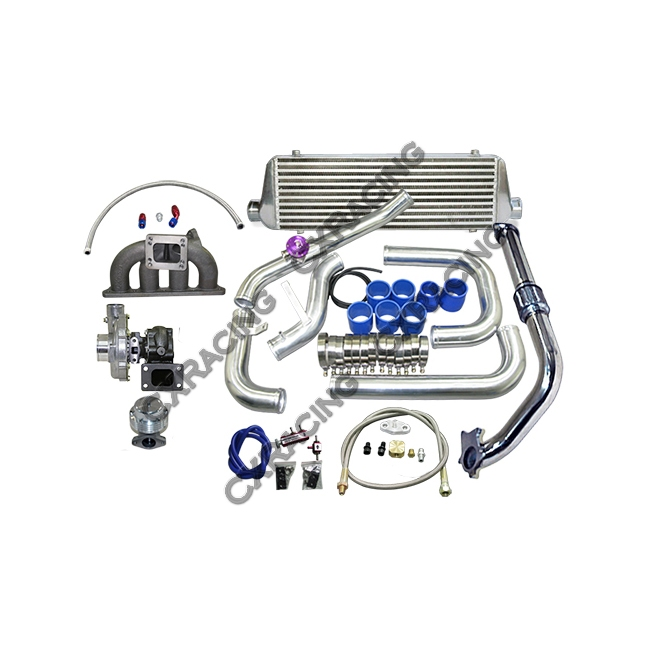 T3/T4 Turbo Kit For 92-00 Honda Civic with D15 D16 D