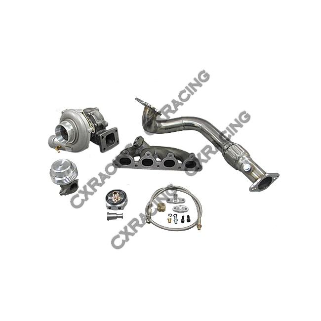 Turbo Intercooler Kit For 92-00 Civic EK EG D15 D16 D SOHC