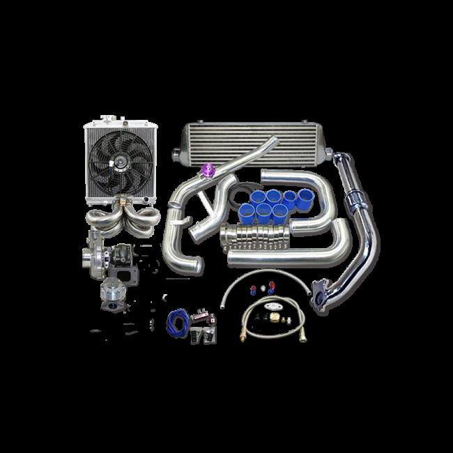 Turbo Intercooler Kit For 1988-2000 Honda Civic B16 B18 B
