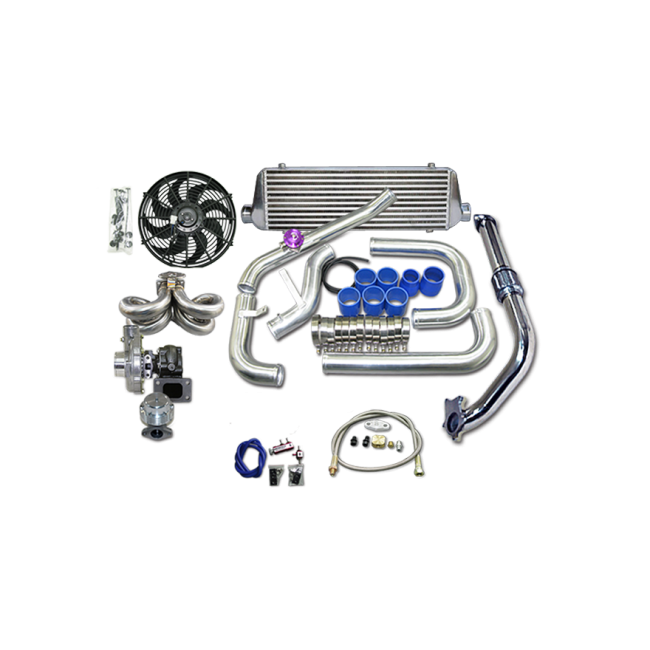 Turbo Kit For 92-00 Honda Civic D15 D16 Engine Ram Style
