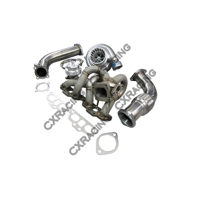 Top Mount T3 GT35 Turbo Kit For Datsun 510 with SR20DET