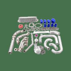 Turbo Manifold Intercooler Piping Kit For 92-95 Honda