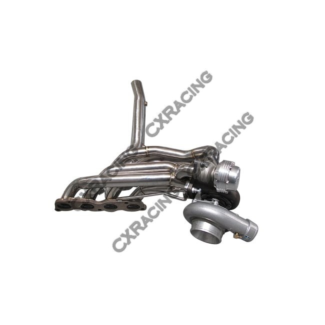 GT35 Turbo Manifold Downpipe Kit for Civic Integra DC5 RSX
