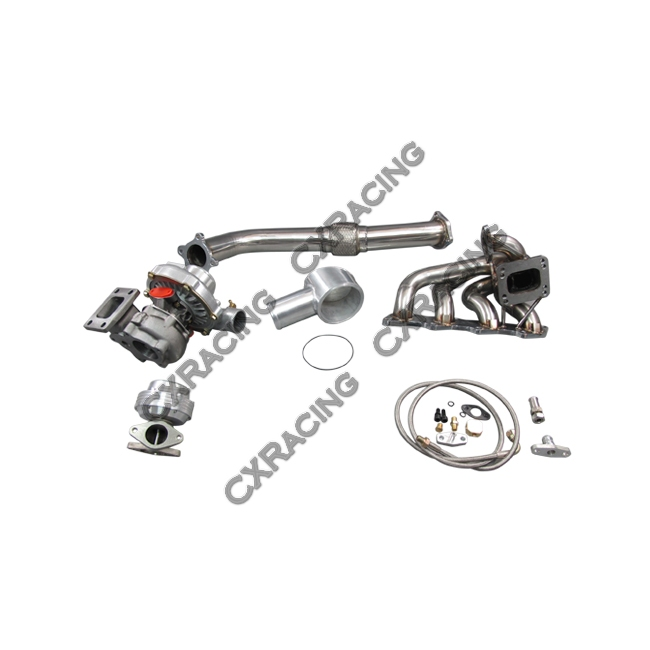 Turbo Kit For 97-01 Nissan FRONTIER KA24DE T3 T04E