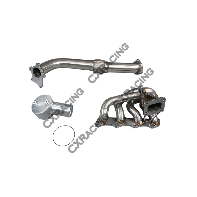 Turbo Kit Downpipe Intercooler Manifold For 1997-2001