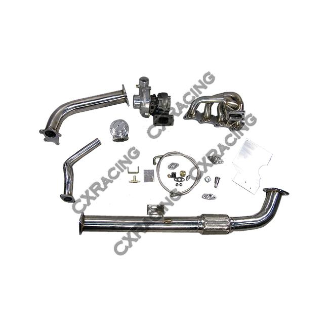 Top Mount T04E Turbo Kit + Intercooler For 240SX S13 S14