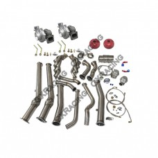 Twin Turbo Manifold Downpipe For 04-06 Pontiac GTO Holden