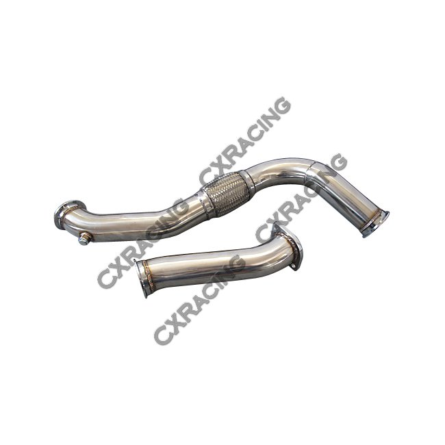 GT35 Single Turbo Downpipe Manifold Kit For 240SX S13 S14