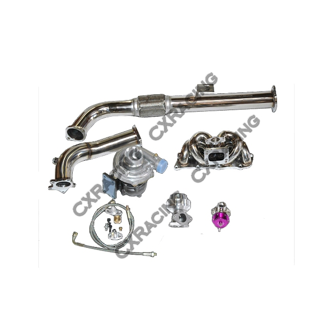 Turbo Kit For 1991-1994 Nissan S13 240SX with Stock KA24DE